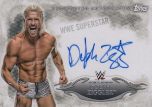 2015 Topps WWE Undisputed Wrestling Autograph Dolph Ziggler