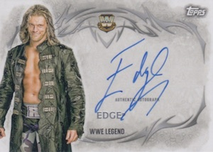 2015 Topps WWE Undisputed Wrestling Autograph Edge