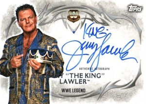 2015 Topps WWE Undisputed Wrestling Autograph Jerry Lawler