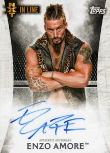 2015 Topps WWE Undisputed Wrestling Autograph NXT Enzo Amore