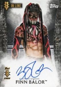 2015 Topps WWE Undisputed Wrestling Autograph NXT Finn Balor