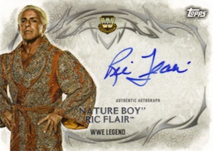 2015 Topps WWE Undisputed Wrestling Autograph Nature Boy Ric Flair