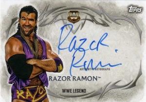 2015 Topps WWE Undisputed Wrestling Autograph Razor Ramon