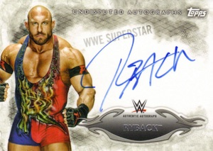 2015 Topps WWE Undisputed Wrestling Autograph Ryback