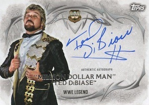 2015 Topps WWE Undisputed Wrestling Autograph Ted DiBiase