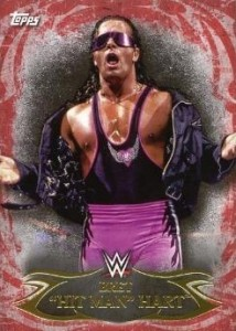 2015 Topps WWE Undisputed Wrestling Base Red Hart