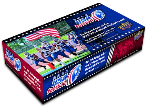 2015 Upper Deck USA Football Cards 3