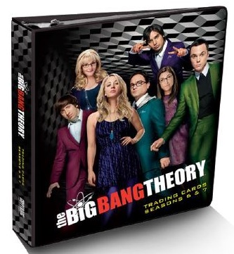 2016 Cryptozoic Big Bang Theory Season 6 and 7 binder