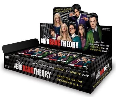 2016 Cryptozoic Big Bang Theory Season 6 and 7 box