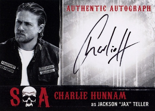 2016 Cryptozoic Sons of Anarchy Seasons 6 and 7 Autograph Charlie Hunnam