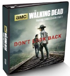 2016 Cryptozoic Walking Dead Season 4 Part 1 Binder