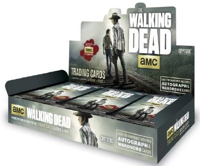 2016 Cryptozoic Walking Dead Season 4 Part 1 box