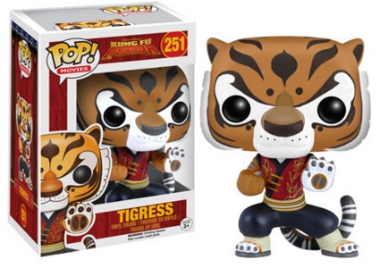 2016 Funko Pop Kung Fu Panda Vinyl Figures Tigress