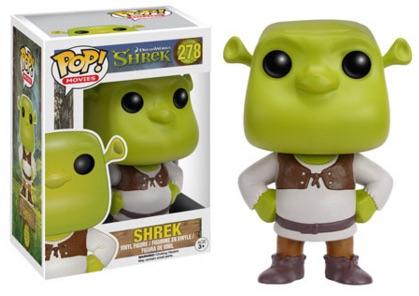 2016 Pop Shrek Vinyl Figures