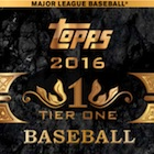 2016 Topps Tier One Baseball Cards - Product Review & Hit Gallery Added