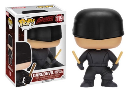 Funko Pop Daredevil TV Vinyl Figures Masked Vigilante