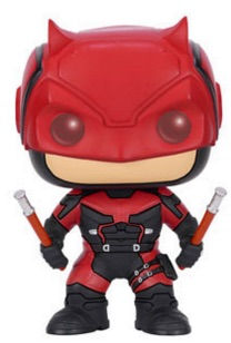 Funko Pop Daredevil TV Vinyl Figures Red 1