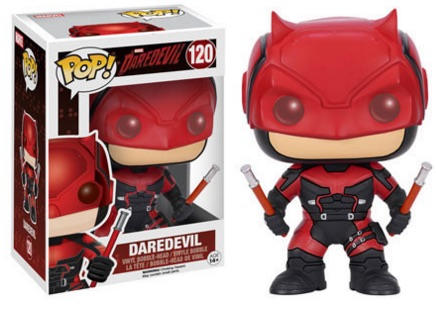 Funko Pop Daredevil TV Vinyl Figures Red
