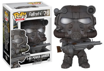 Funko Pop Fallout 4 Vinyl Figures T-60 Power Armor