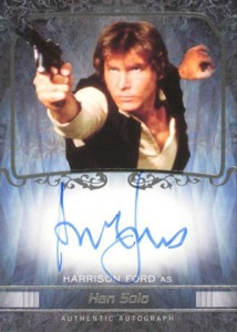 Harrison Ford Autograph Card Collecting Guide and Checklist 1