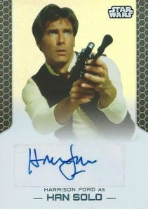 Harrison Ford Autograph Card Collecting Guide and Checklist 27