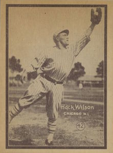 Top 10 Hack Wilson Baseball Cards 5