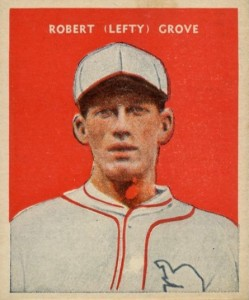 1932 US Caramel Lefty Grove #27
