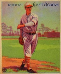 1933 Goudey Lefty Grove #220