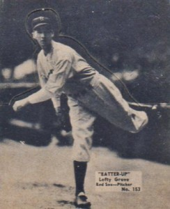 1934 Batter-Up Lefty Grove #153