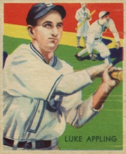 Top 10 Luke Appling Baseball Cards 7