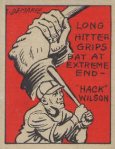Top 10 Hack Wilson Baseball Cards 7