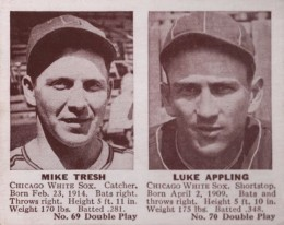 1941 Double Play Mike Tresh, Luke Appling #69-70