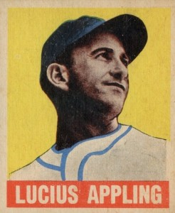 Top 10 Luke Appling Baseball Cards 9