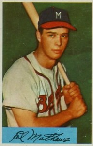 Top 10 Eddie Mathews Baseball Cards 5