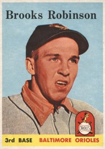 Top 10 Brooks Robinson Baseball Cards 9