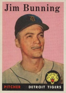 Top 10 Jim Bunning Baseball Cards 8