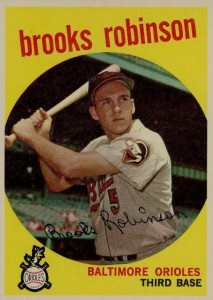 Top 10 Brooks Robinson Baseball Cards 7