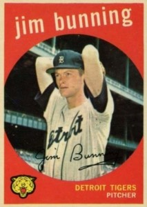 Top 10 Jim Bunning Baseball Cards 7