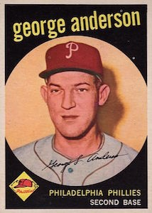 Top 10 Vintage Baseball Card Singles of 1959 1
