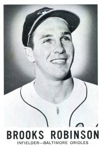1960 Leaf Brooks Robinson #27