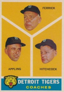 1960 Topps #461 Tom Ferrick, Billy Hitchcock, Luke Appling