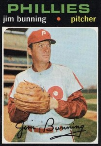 Top 10 Jim Bunning Baseball Cards 1
