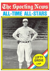 Top 10 Lefty Grove Baseball Cards 1