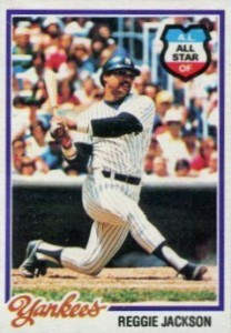 Top 10 Reggie Jackson Baseball Cards 3