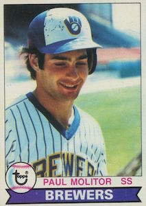 Top 10 Paul Molitor Baseball Cards 2