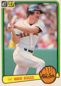 Top 10 Wade Boggs Baseball Cards 4