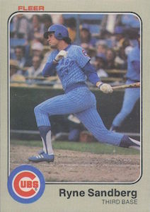 Top 10 Ryne Sandberg Baseball Cards 8