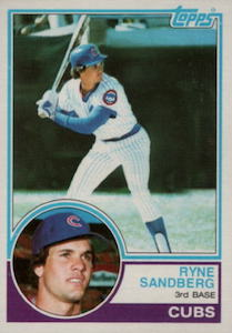 Top 10 Ryne Sandberg Baseball Cards 10