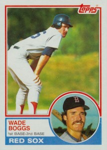 Top 10 Wade Boggs Baseball Cards 10