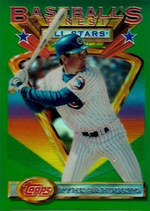 Top 10 Ryne Sandberg Baseball Cards 4